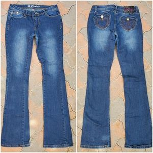Luxirie LRG Boot Cut Jeans X-tra Long!! - 7/28